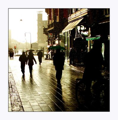Mostra online di Enrico Doria - 7. Nella pioggia