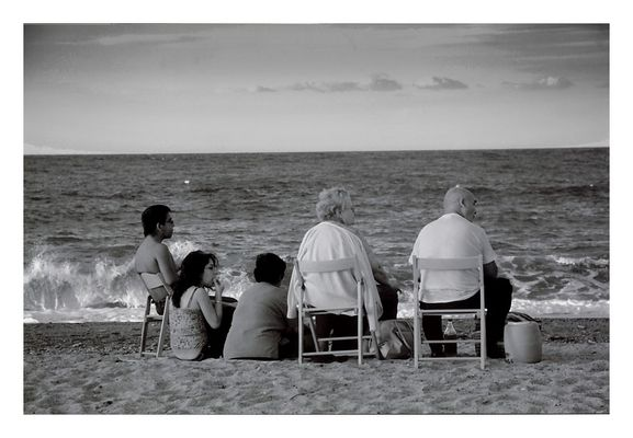 "Mostra online di Francesco Ottato: ""C'era una volta"" - 4. Al mare"