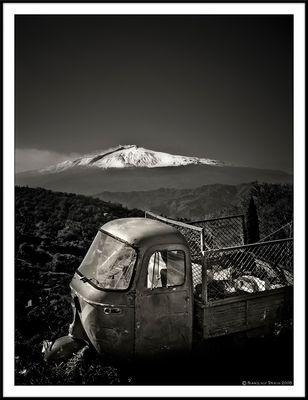"""Mostra online di Francesco Torrisi: """"Etna"""" - 4."""