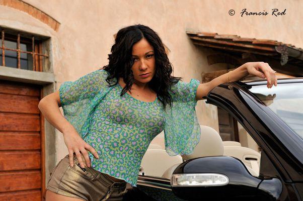 """Mostra online di Francis Red """"Elena - Loving Car"""" - 2."""