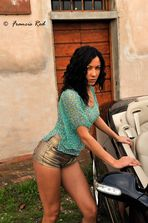 "Mostra online di Francis Red ""Elena - Loving Car"""