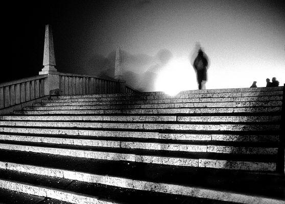 """Mostra online di Franco Folgori """"La realtà del visibile e dell'invisibile"""" 10.Ombre nella notte"""