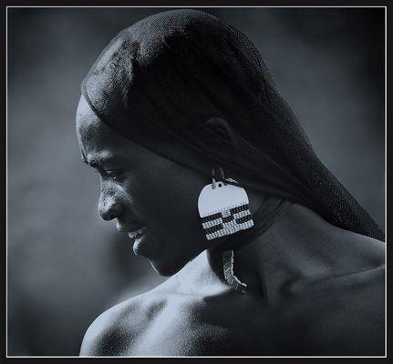 """Mostra online di Giancarlo Crocicchia """"Viaggiare l'Africa"""" - 7. So nice! So shy!"""