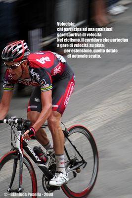 """Mostra online di Gianluca Posella """"Le velocità"""" - 6. Velocista"""