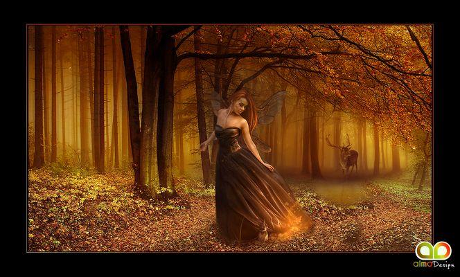"""Mostra online di Grazia Aimo """"Aria di sogno"""" - 1. Autumn"""
