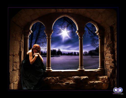 """Mostra online di Grazia Aimo """"Aria di sogno"""" - 10. Prayer in the night"""