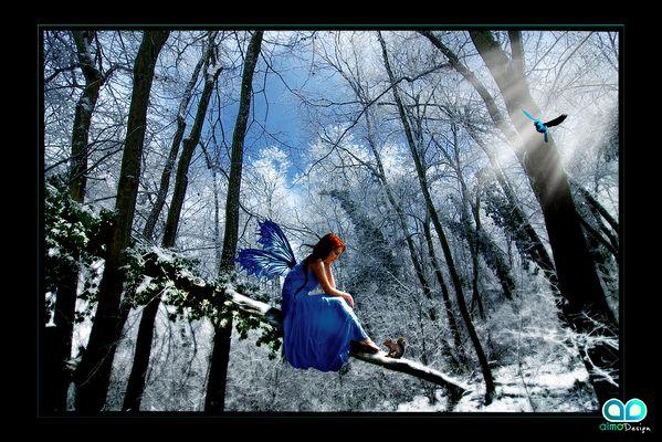"""Mostra online di Grazia Aimo """"Aria di sogno"""" - 2. Winter"""