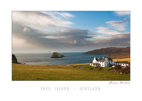 "Mostra online di Grazia Bertano: ""About Scotland"" - 1. Skye Island"