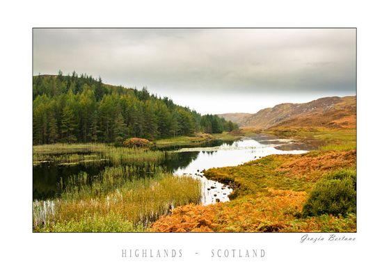"Mostra online di Grazia Bertano: ""About Scotland"" - 10. Highlands Scotland"