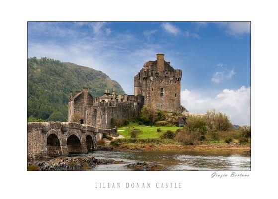 """Mostra online di Grazia Bertano: """"About Scotland"""" - 3. Eilean Donan Castle"""