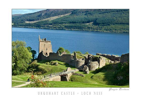 "Mostra online di Grazia Bertano: ""About Scotland"" -  5. Urquhart Castle - Loch Ness"