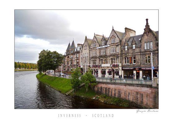 """Mostra online di Grazia Bertano: """"About Scotland"""" - 8. Inverness"""
