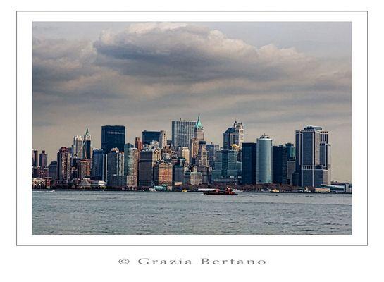 "Mostra online di Grazia Bertano ""Autumn in New York"" - 2. Skyline"