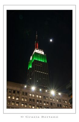 """Mostra online di Grazia Bertano """"Autumn in New York"""" - 6. Empire State Building"""