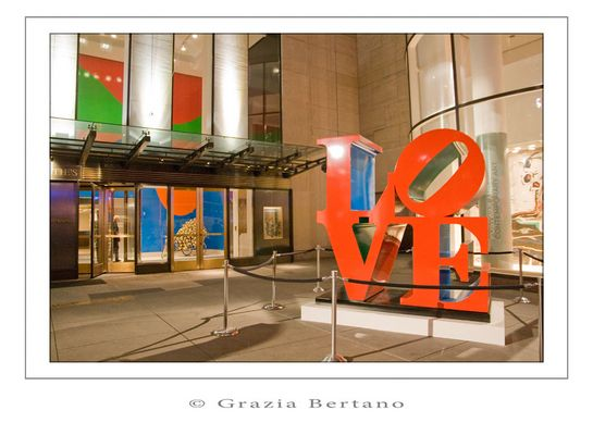 "Mostra online di Grazia Bertano ""Autumn in New York"" - 9. Love is in the air"