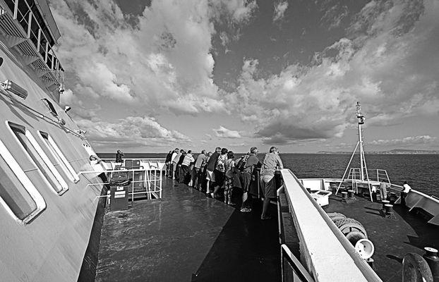 """Mostra online di Guglielmo Rispoli: """"Viaggi per mare"""" - 8. Il coraggio, insieme"""