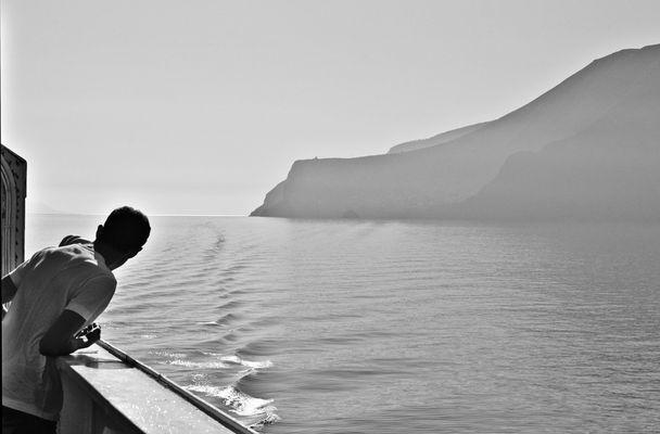 """Mostra online di Guglielmo Rispoli: """"Viaggi per mare"""" - 9. La mia isola"""