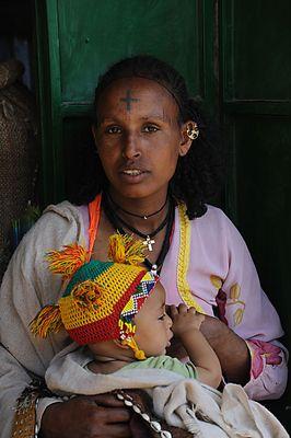 """Mostra online di Heinz Homatsch """"Etiopia... mio futuro"""" - 1. Madre"""