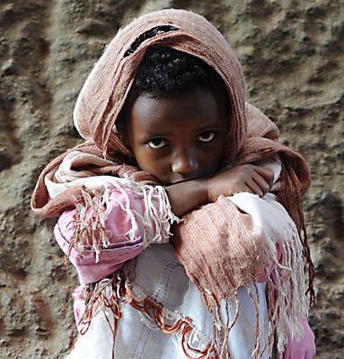 "Mostra online di Heinz Homatsch ""Etiopia... mio futuro"" - 2. La piccola pellegrina"