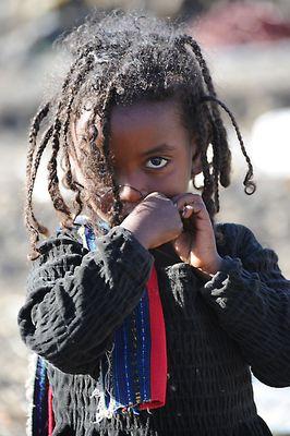 "Mostra online di Heinz Homatsch ""Etiopia... mio futuro"" - 3. Dubbiosa"