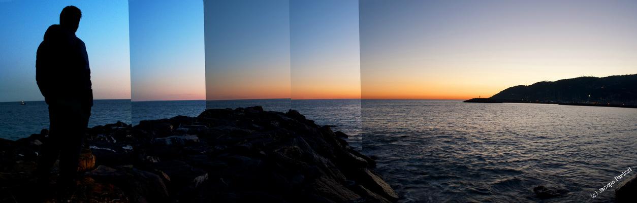 """Mostra online di Jacopo Parizzi """"Tra mare e città"""" - 4. Silhouette marina"""