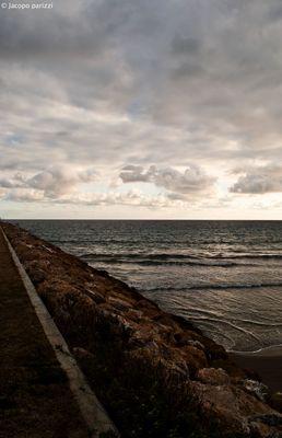 """Mostra online di Jacopo Parizzi """"Tra mare e città"""" - 7. Cielo mare"""