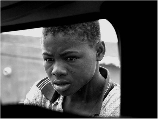 """Mostra online di Marco Pavani: """"Per le strade della Guinea"""" - 10. Mendicante"""