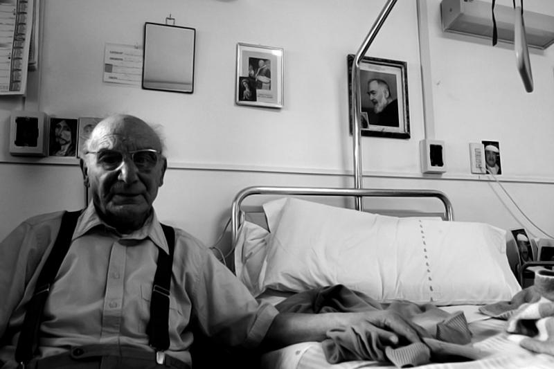 """Mostra online di Mario Gabbarin """"A casa è meglio"""" - 2. Salvatore"""