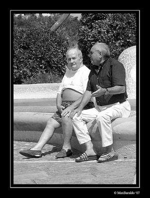"""Mostra online di Massimo Baraldo: """"Il mondo degli anziani"""" - 9. Scaramanzia"""