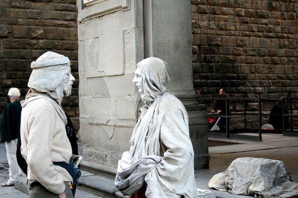 """Mostra online di Maurizio Bartolozzi """"Il palcoscenico della strada"""" - 7. Dialogo"""