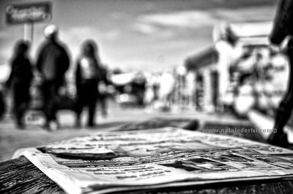 """Mostra online di Natale De Risi """"Appunti di viaggio: 15-01-2011"""" - 8. Notizia dalla Libia"""