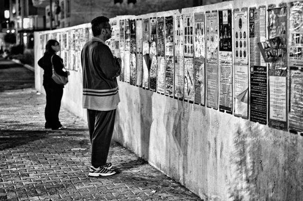 """Mostra online di Natale De Risi """"Appunti di viaggio: 15-01-2011"""" - 9. Oggi voto libero!"""