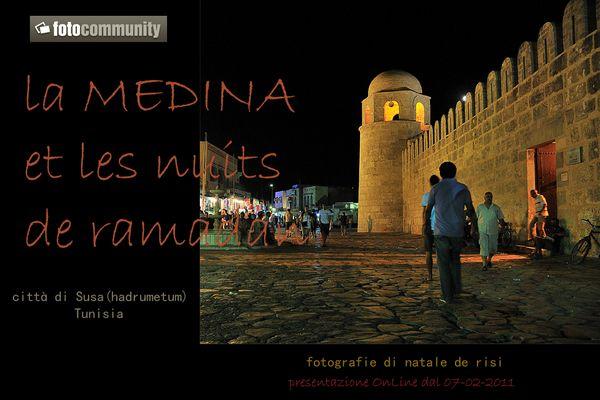 """Mostra online di Natale De Risi """"La Medina et le nuits de Ramadan"""""""