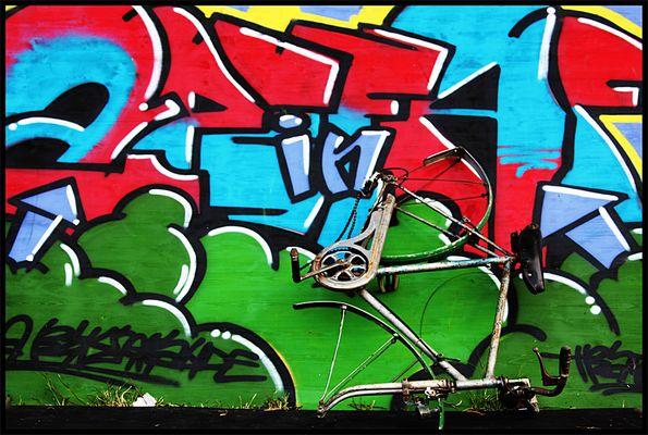"""Mostra online di Nicola Giaretta """"Bicicletta Maledetta"""" - 7."""