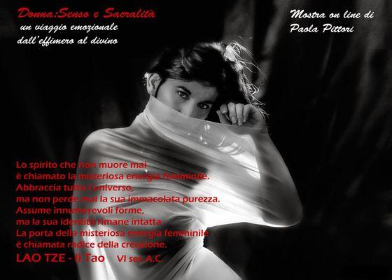 """Mostra online di Paola Pittori: """"Donna: Senso e Sacralità"""""""