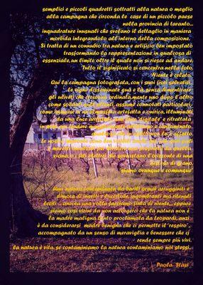 """Mostra online di Paola Stasi: """"Art&Nat (artificio e natura)"""" -  1."""