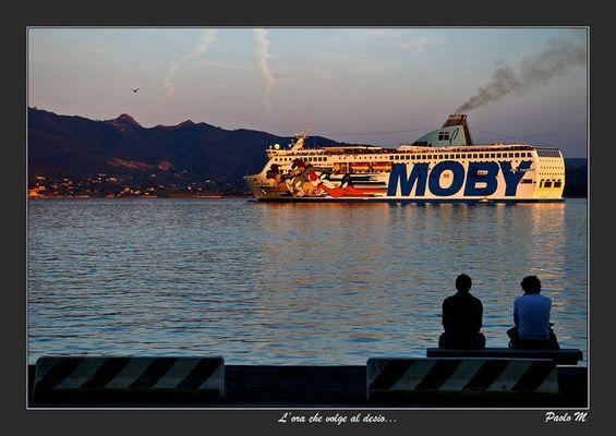 """Mostra online di Paolo Mugnai: """"Un giorno all'isola d'Elba"""" - 9. L'ora che volge al desìo..."""