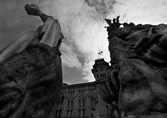 """Mostra online di Rosalba Crosilla """"Trieste"""" - 6. Cielo"""