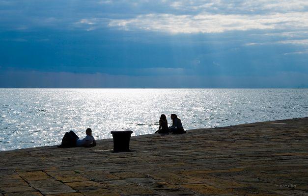 """Mostra online di Rosalba Crosilla """"Trieste"""" - 9. ... quiete"""