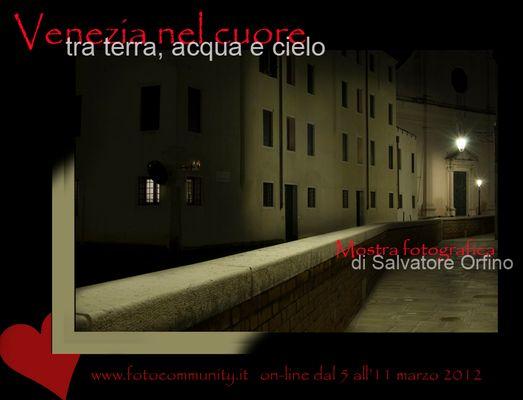 """Mostra online di Salvatore Orfino """"Venezia nel cuore"""""""