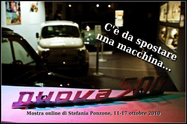 Mostra online di Stefania Ponzone - C'è da spostare una macchina