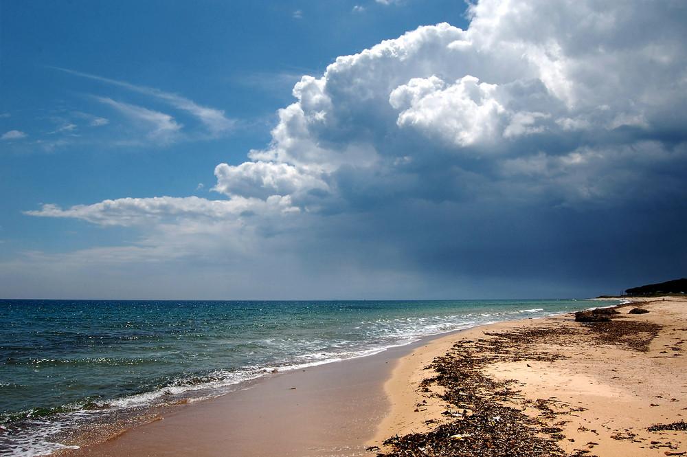 """Mostra online di Teresa Loddo: """"Gli stati dell'anima"""" - 1. L'impeto del mare"""