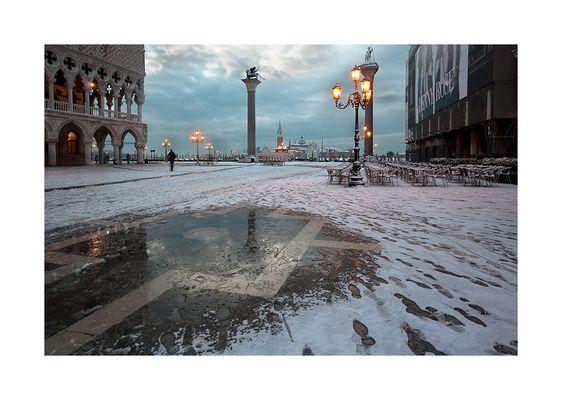 """Mostra online di Tommaso Forin """"Venezia e la neve"""" - 4."""