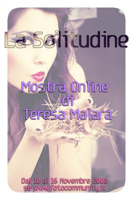 """Mostra online di T.Teresa Malara """"La Solitudine"""""""