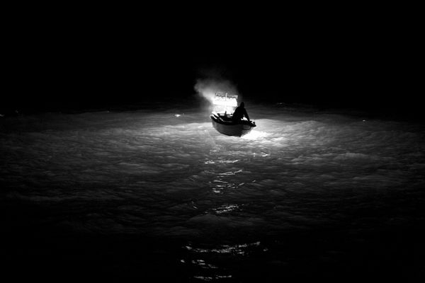"""Mostra online di Uta Theile """"L'arte della pesca nelle Cinque Terre"""" - 2. Solitudine"""