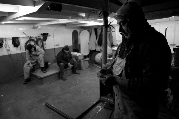 """Mostra online di Uta Theile """"L'arte della pesca nelle Cinque Terre"""" - 7. L'attesa"""