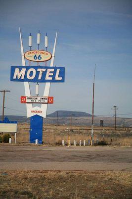 Motel in Seligman