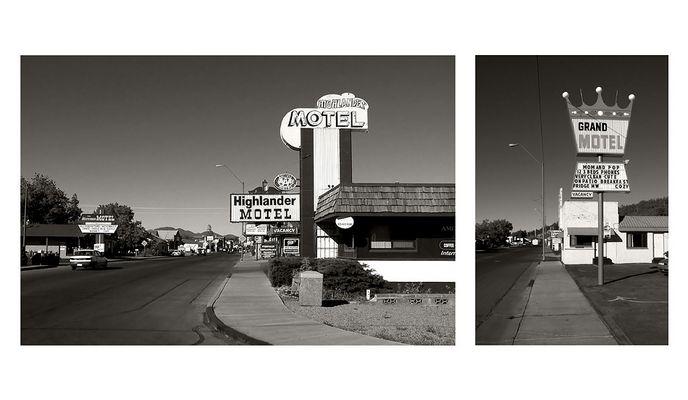Motels an der Route 66