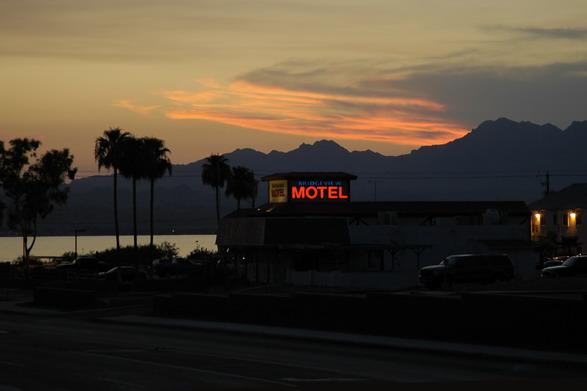 Motelstimmung in Arizona