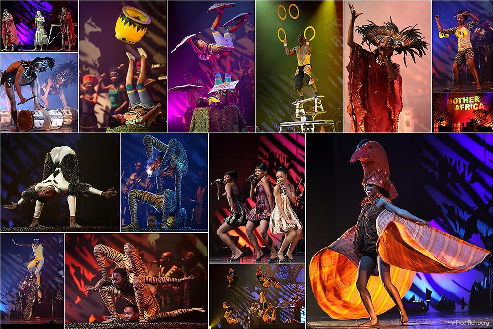 ... MOTHER AFRICA - Circus der Sinne